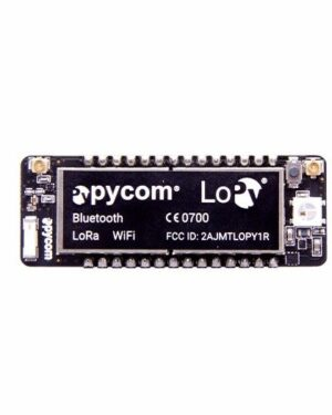 Pycom LoPy MicroPython enabled development board (LoRa, WiFi, Bluetooth)